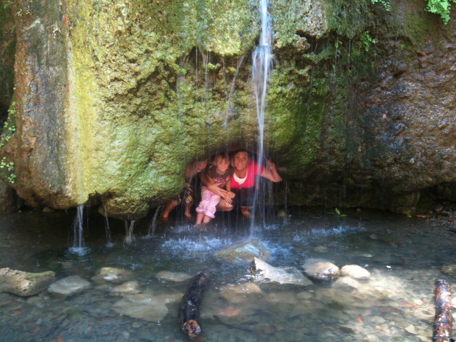 Under Nojoqui Falls