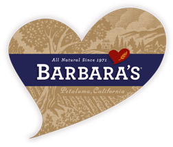 Living Green with Barbara's Bakery