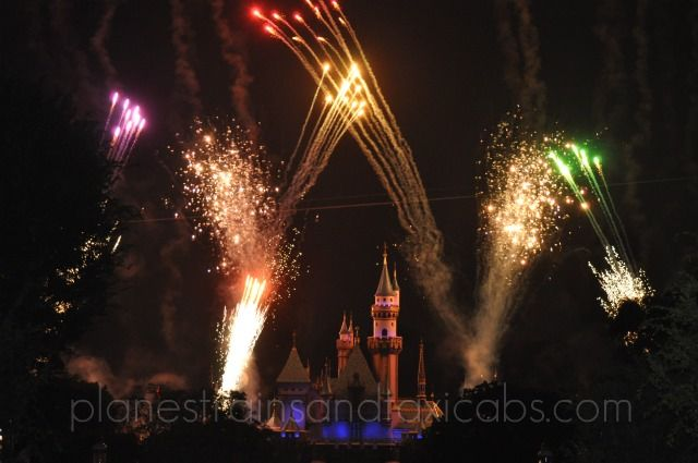 "Disneyland's ""Magical, A Fireworks Spectacular"" with Tinker Bell & Dumbo"