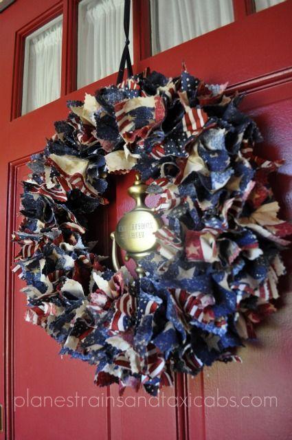 Patriotic Wreaths Think Crafts By Createforless