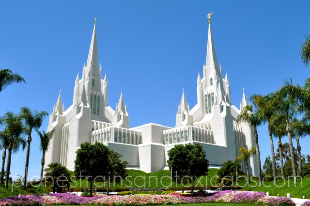 Favorite Photo Saturday – San Diego Temple