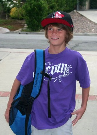 1st Day Of Middle School