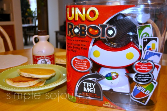 "Uno Roboto ""House Rules"" Slumber Party"
