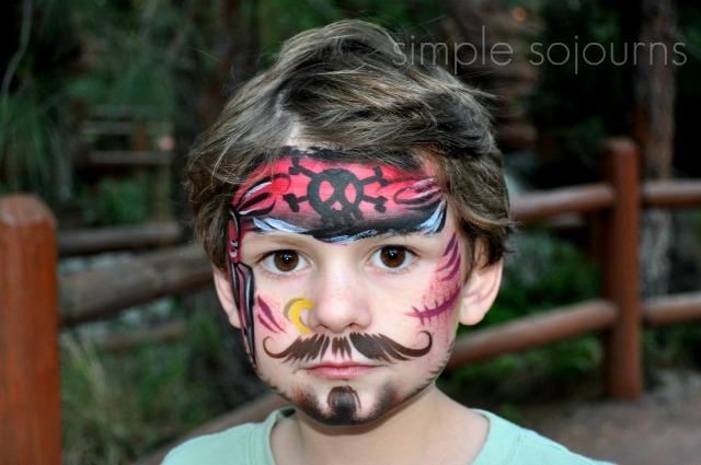 Legoland Face Painting