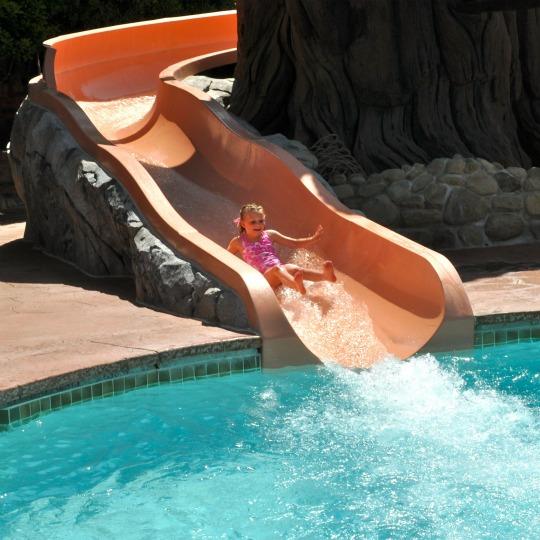 Grand Californian Water Slide