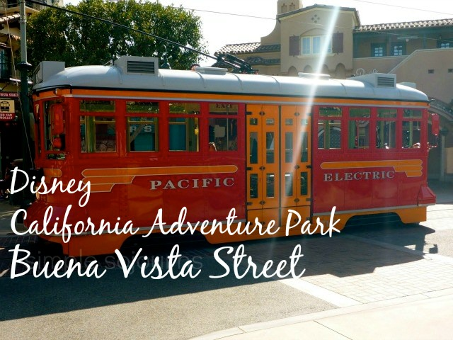 Disney California Adventure Park Buena Vista Street