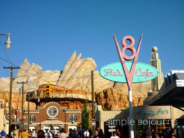 Cars Land – Disney California Adventure Park