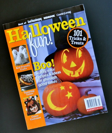 halloween fun magazine simple sojourns - Halloween Magazines