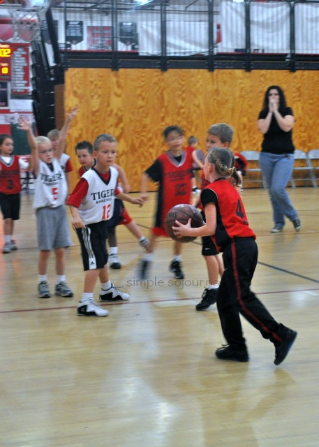 Favorite Photo Saturday – Kennedy and the Basketball