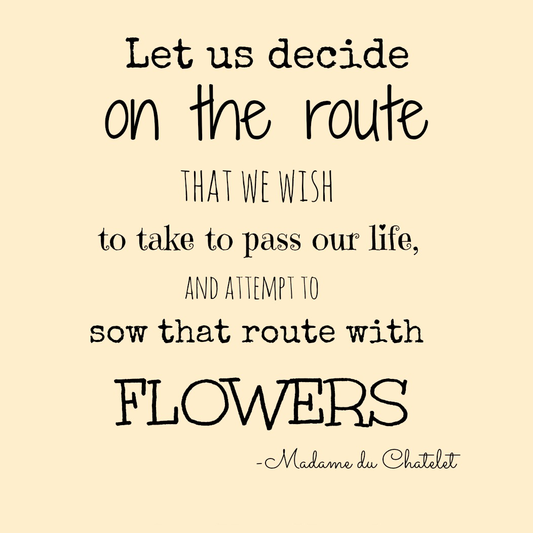 Sunday Thoughts – Sowing our Sojourn with Flowers