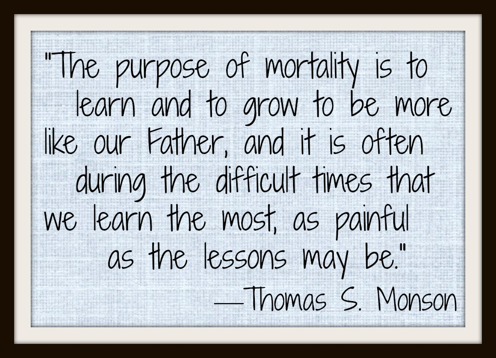 Sunday Thoughts – Difficult Times