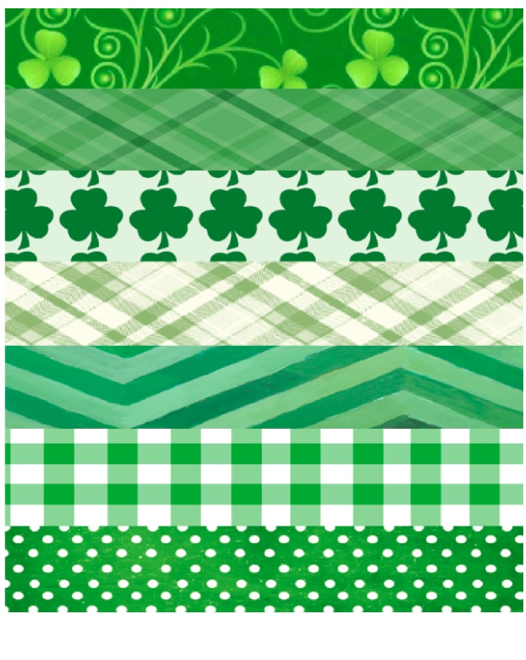 St. Patrick's Day Garland – Printable