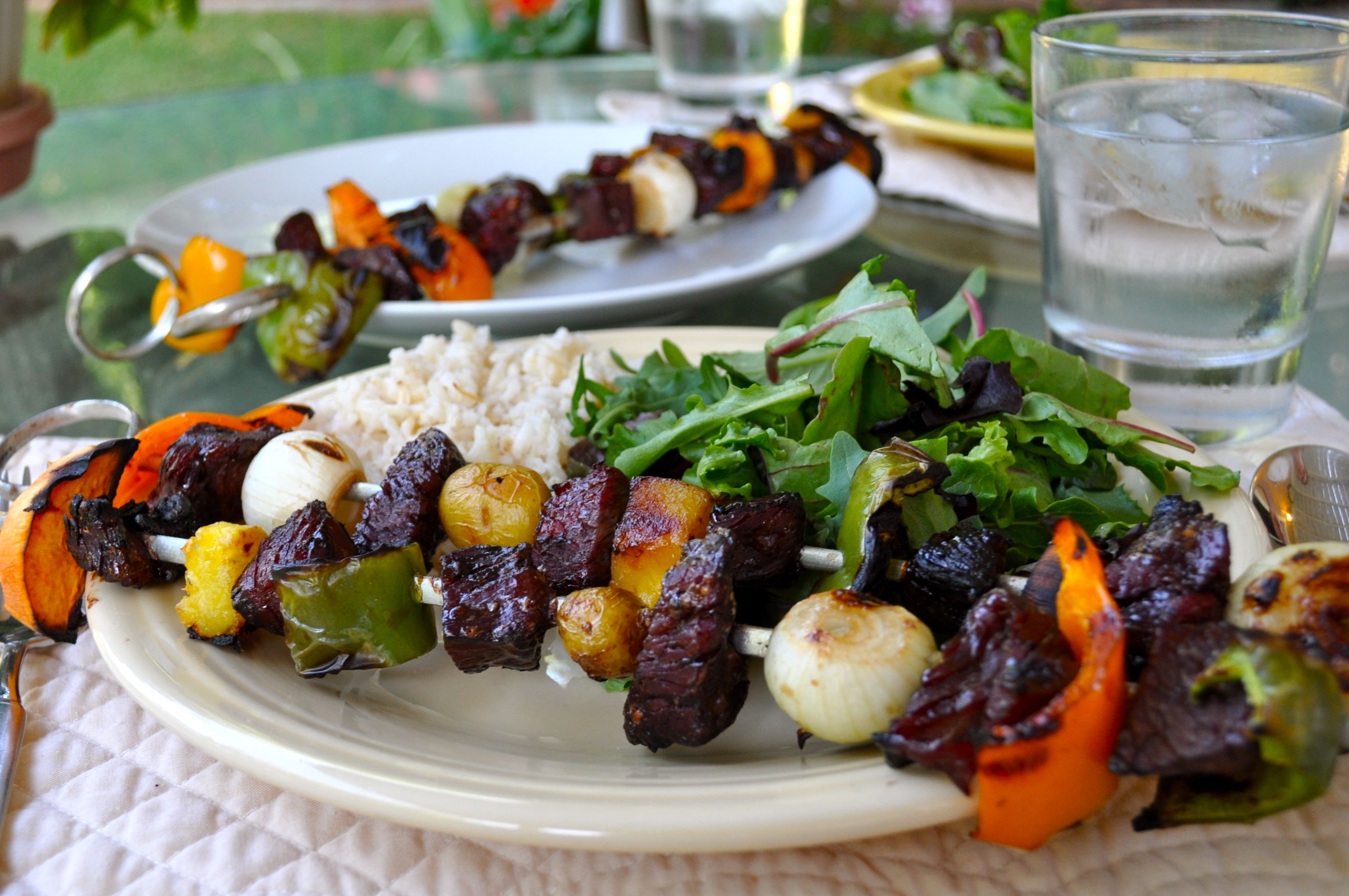 Summer Grilling with Cattleman's Finest Beef Kabobs Recipe