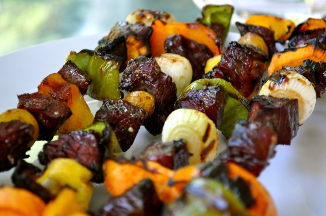 Grilled Beef Kabobs Recipes Grilled Beef Kabobs | Simple