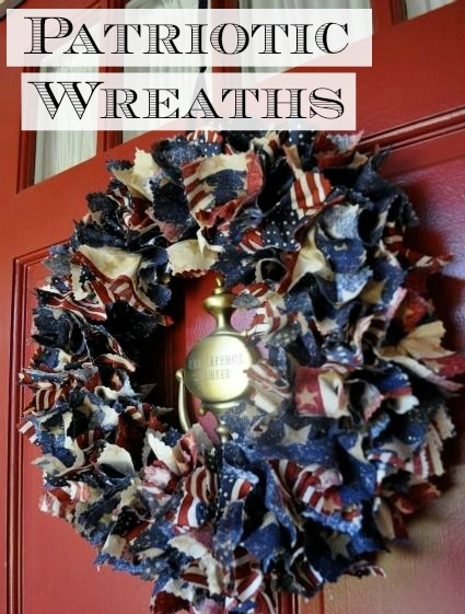 DIY Patriotic Wreaths