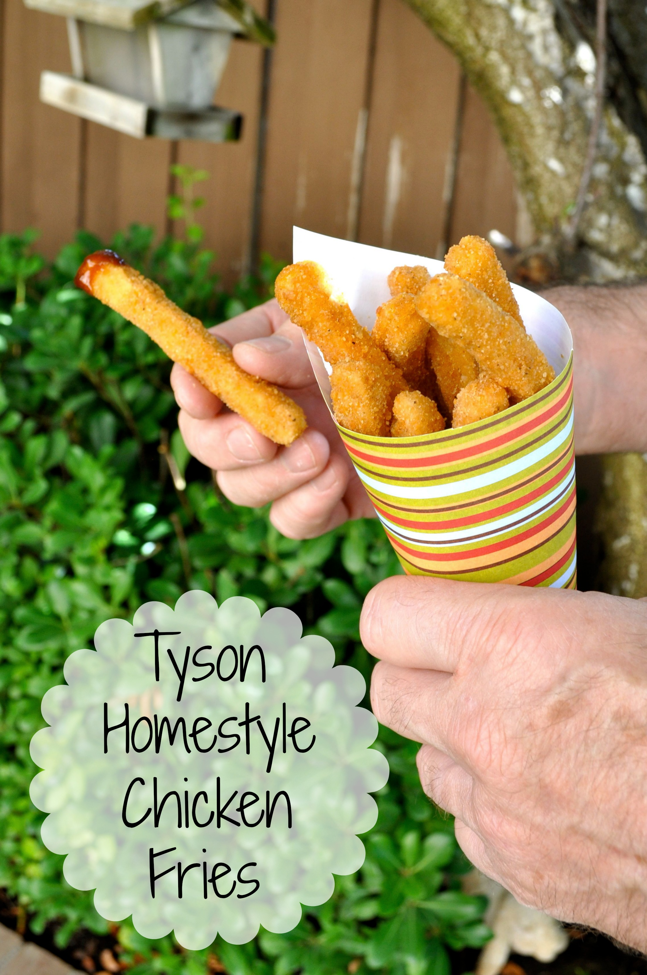 Tyson chicken fries nutrition
