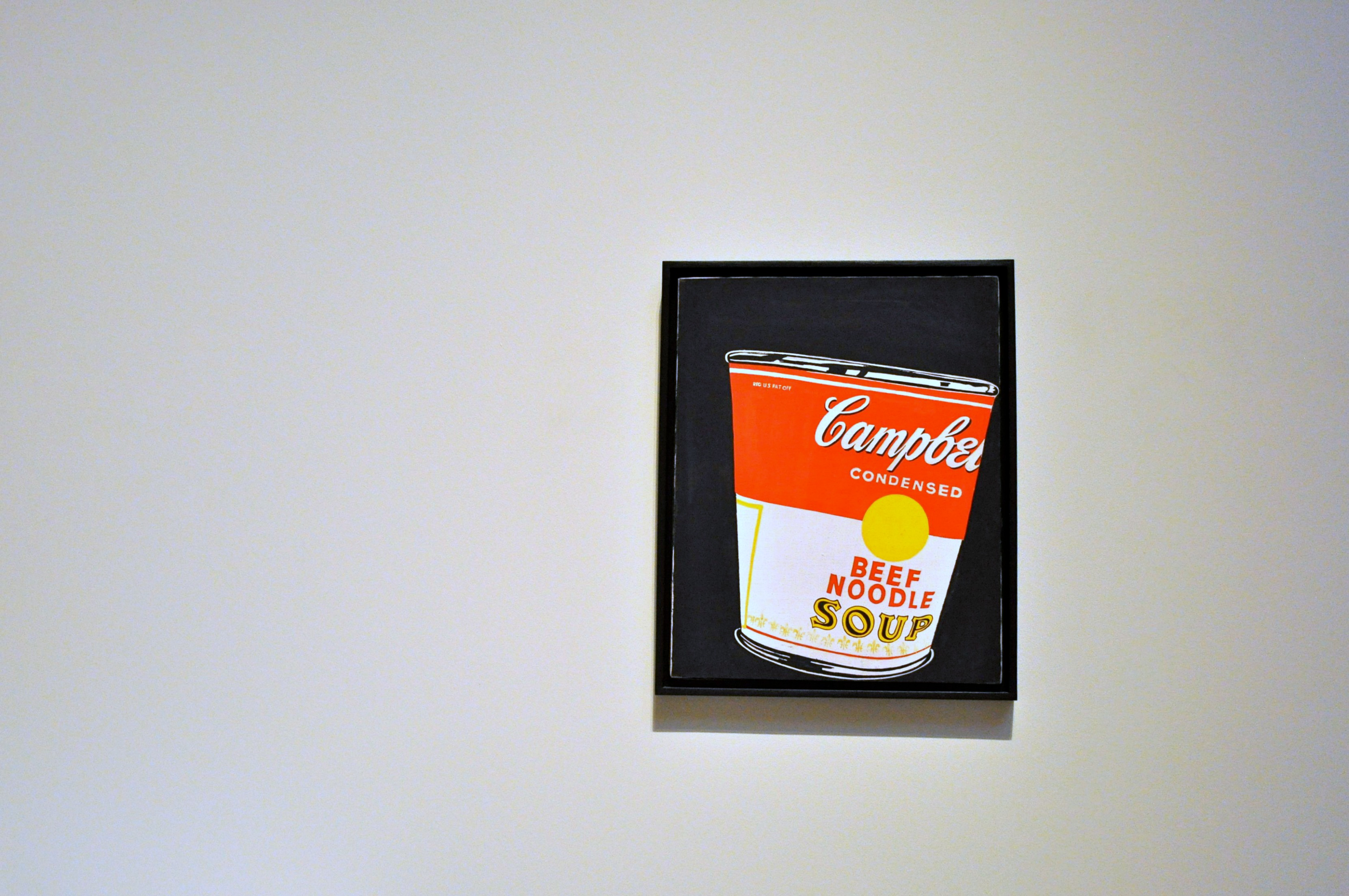 Andy Warhol Art – Crushed Campbell's Soup Can