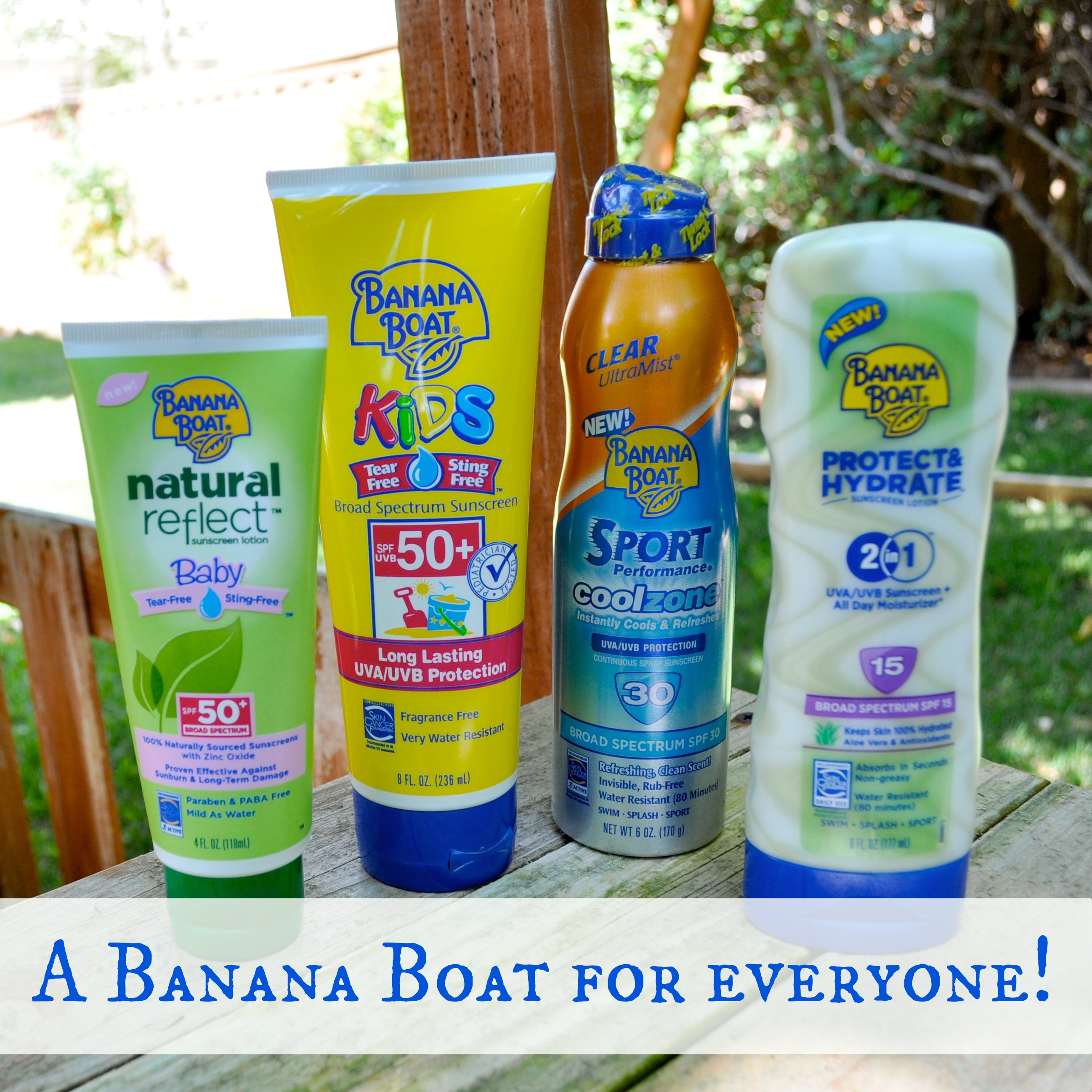 Sun Safe with Banana Boat