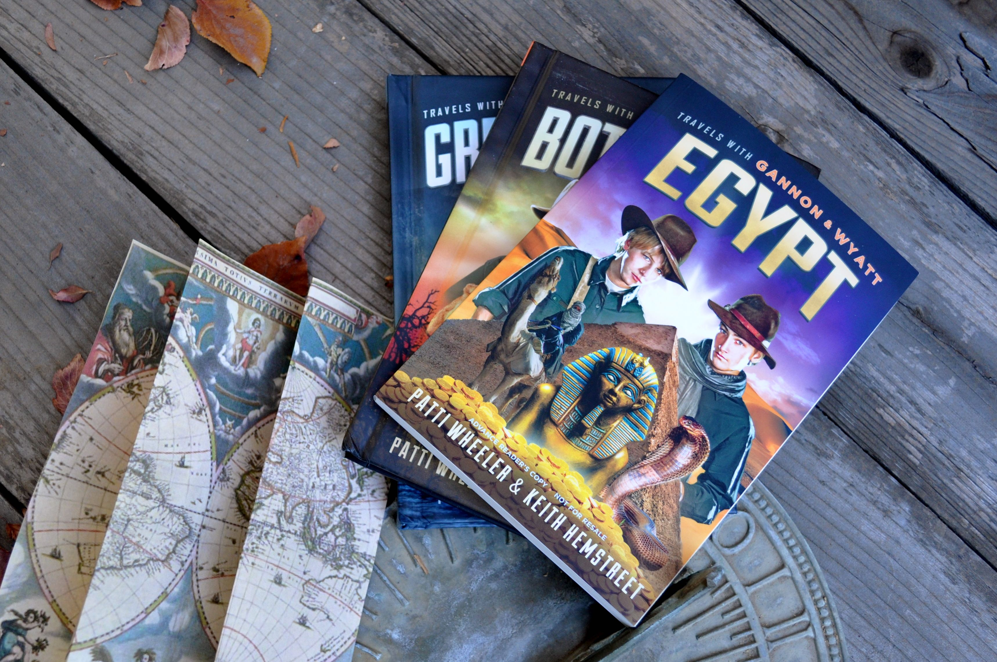 Travels with Gannon & Wyatt Adventure Books