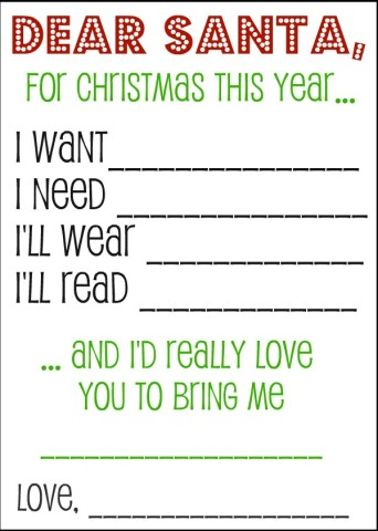 Kid's Christmas Wish List