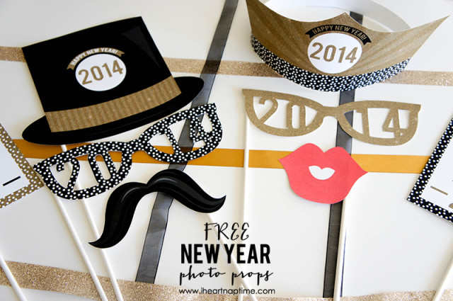 New Year Props