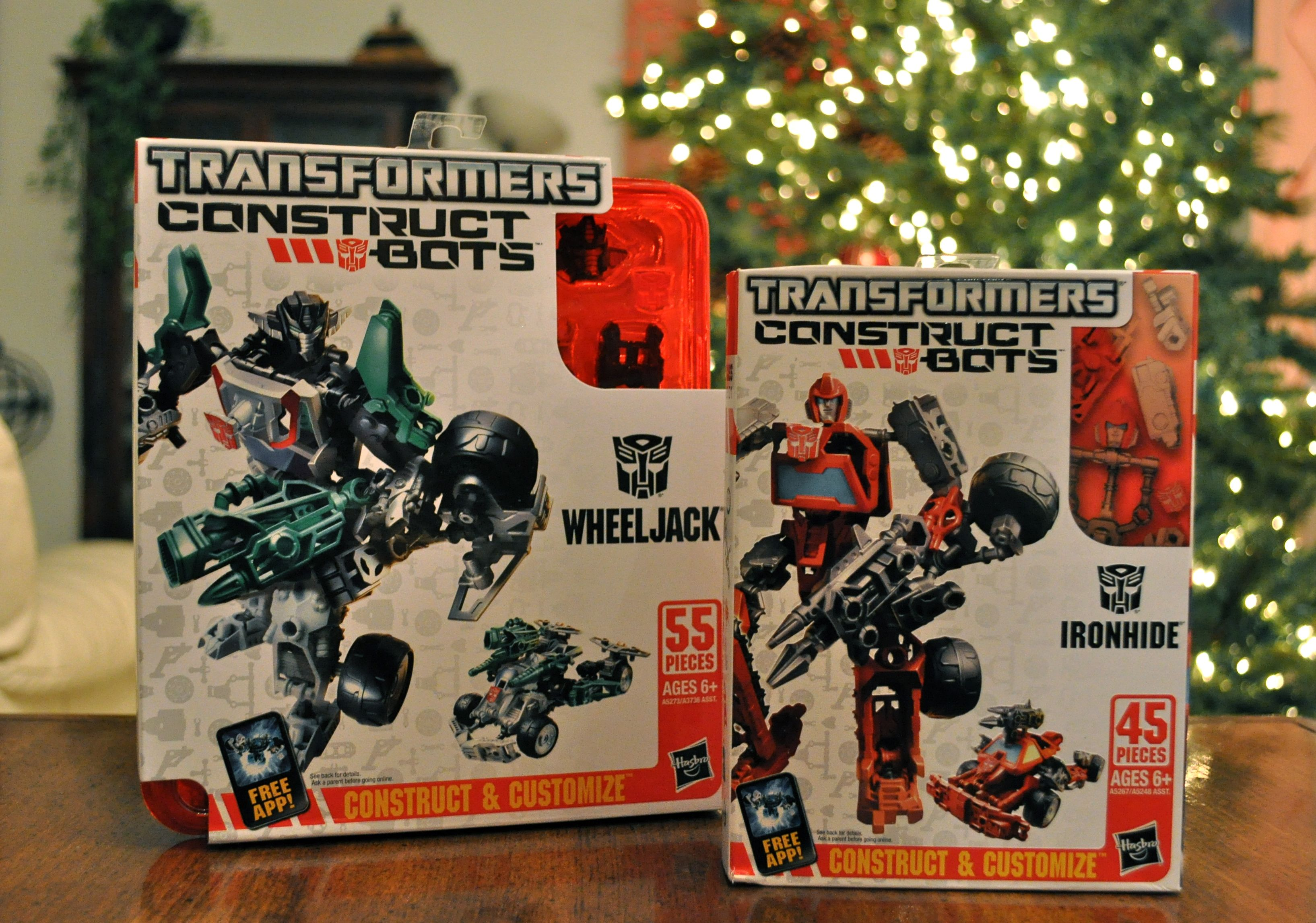 Flash Giveaway! Hasbro Transformers Construct-Bots