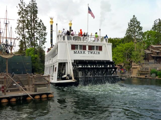 Disneyland Mark Twain Simple Sojourns