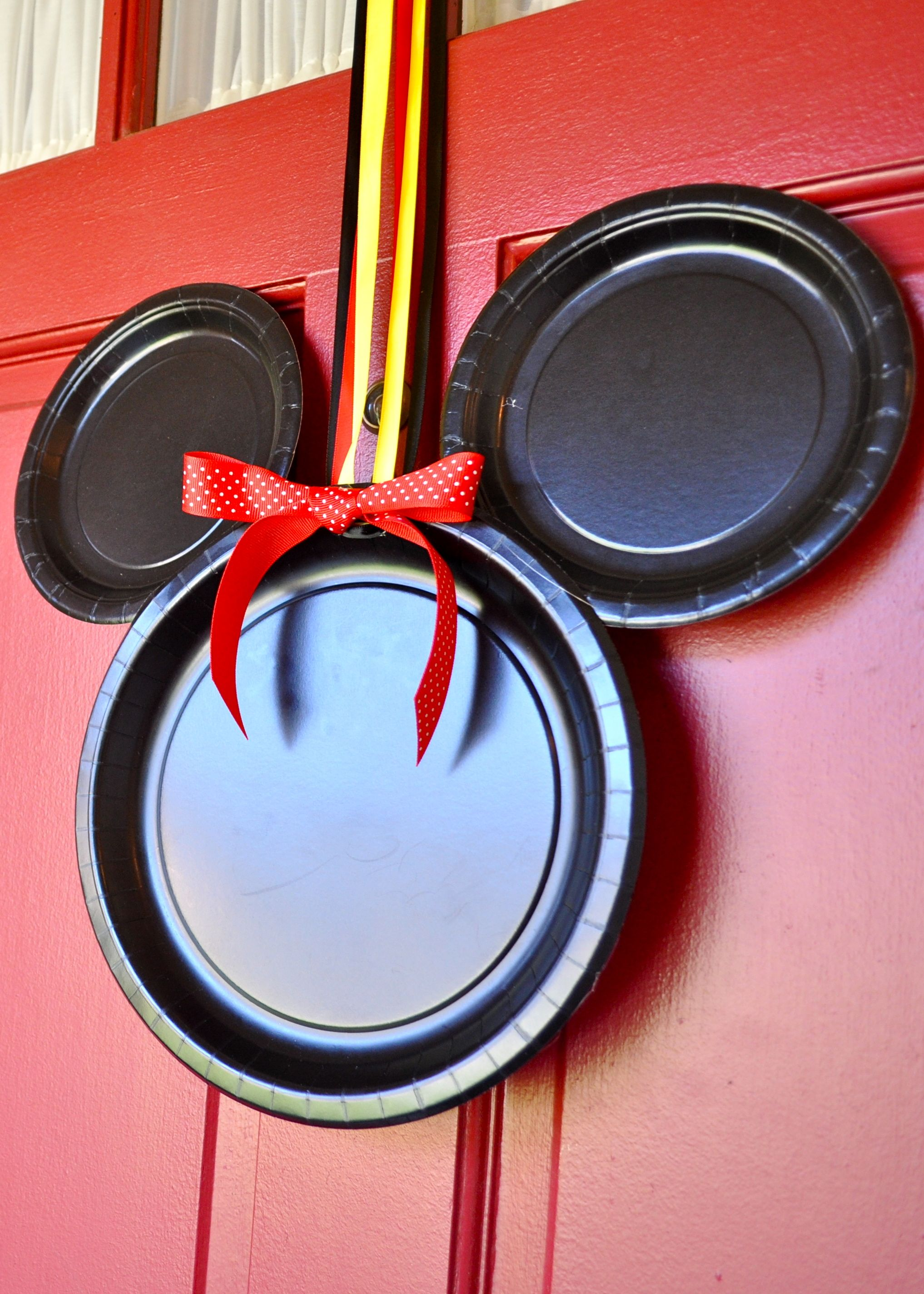 Mickey Mouse Door Decorations Simple Sojourns