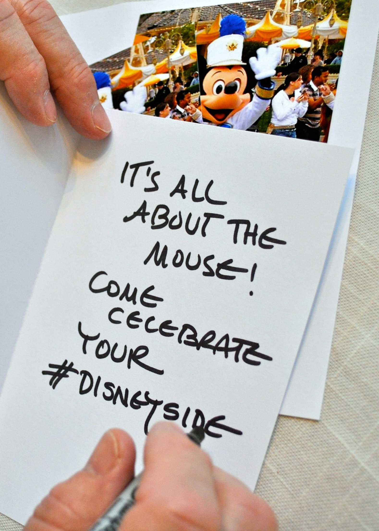 DisneySide Celebration DIY Invitations