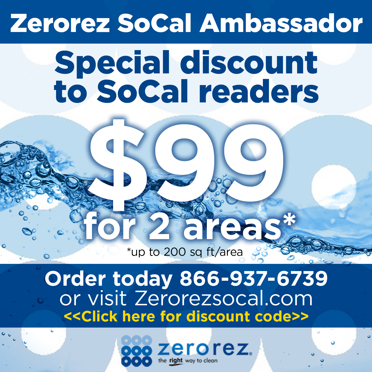 Zerorez SoCal and The Five Second Rule