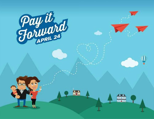 Pay it Forward Twitter Party #PayitFwdDay
