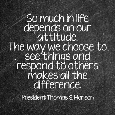 A Positive Attitude - Thomas S. Monson