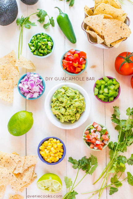 Do-It-Yourself Guacamole Bar