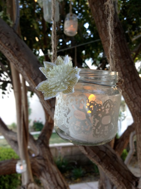 Hanging Party Lights - Simple Sojourns