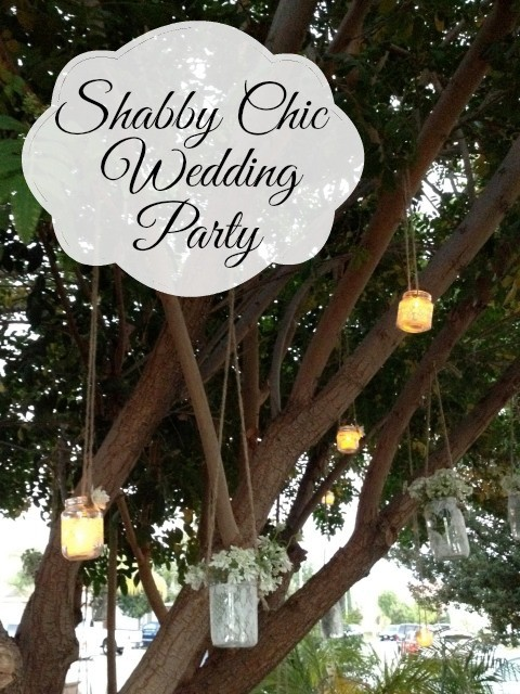 Shabby Chic Wedding Reception Party - Simple Sojourns