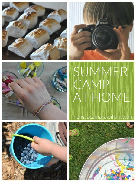 Summer Camp at Home