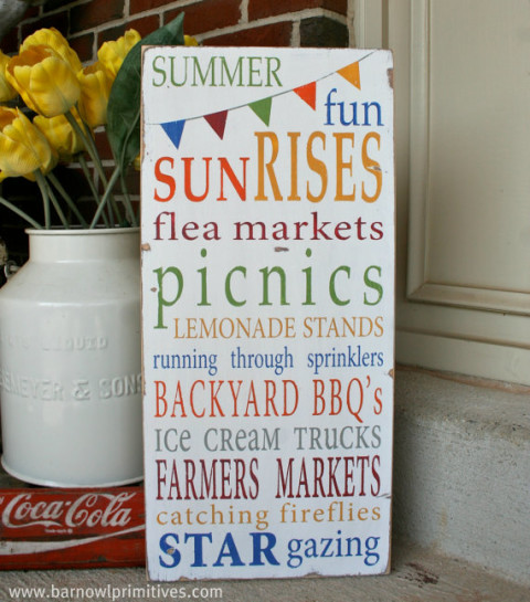 Summer Fun Typography