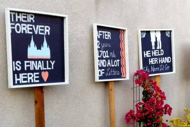Wedding Chalkboard Signs - Simple Sojourns