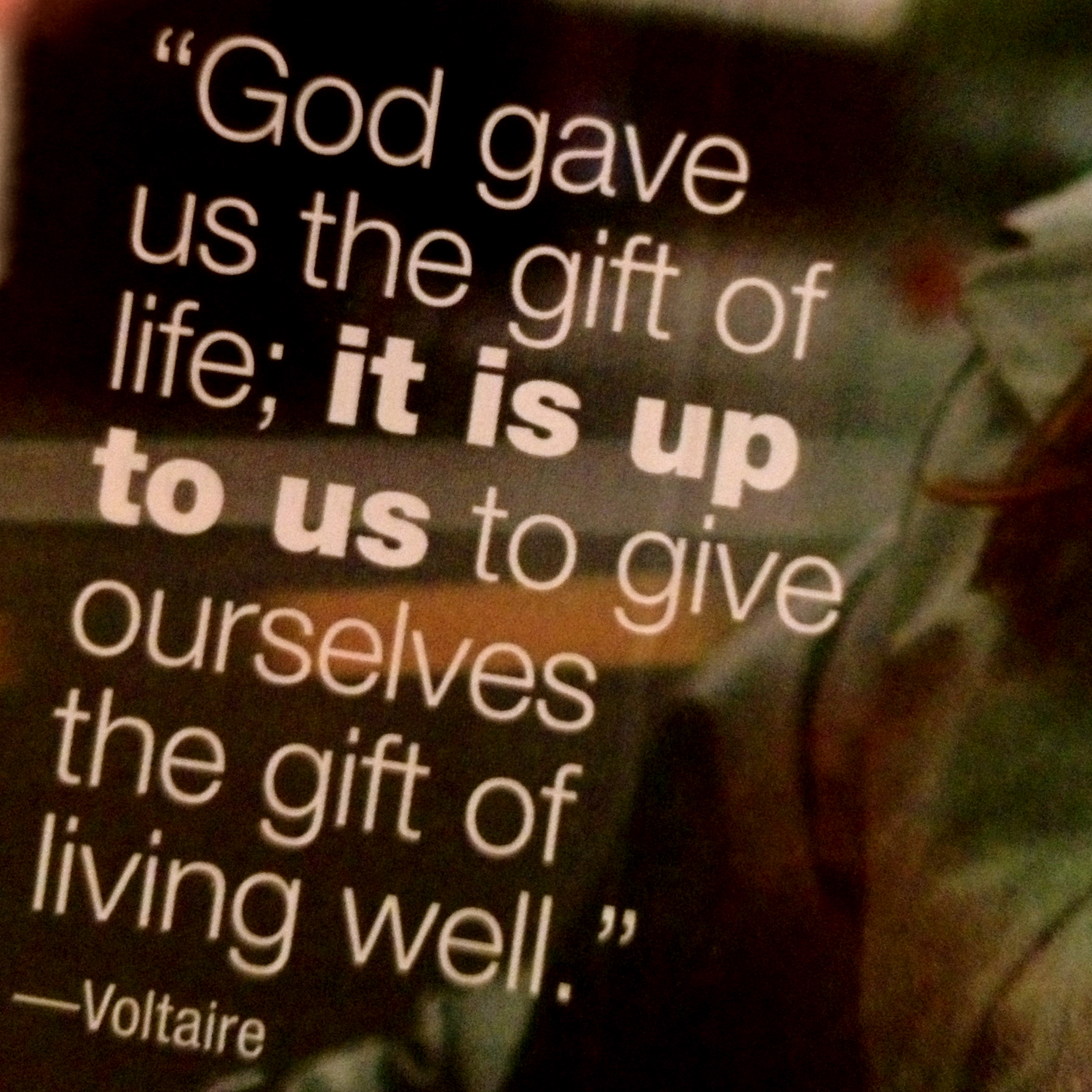 God Gave Us The Gift of Life - Simple Sojourns