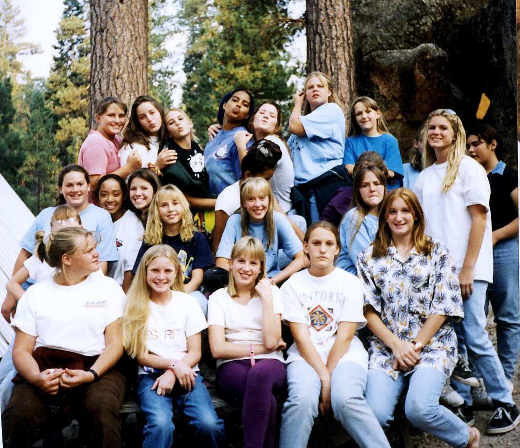 It is a picture of Selective Lds Girls Camp