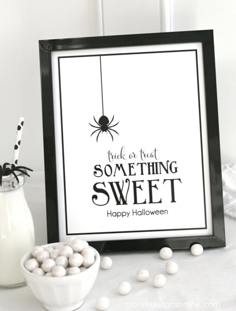 Halloween Something Sweet Printable
