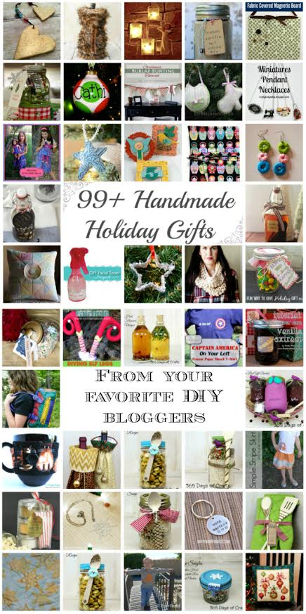 99+ Handmade Holiday Gifts