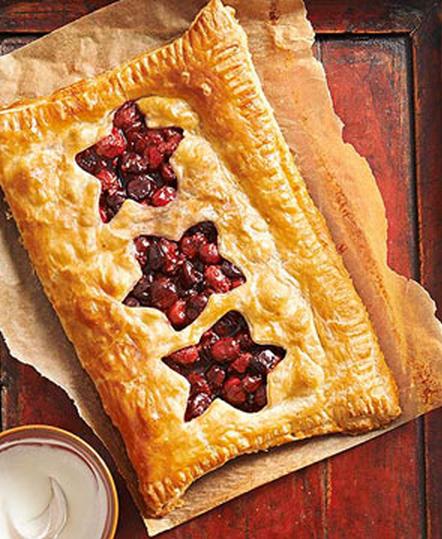 Berry-Cherry Slab Pie