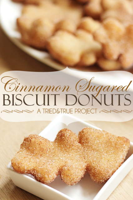 Cinnamon Sugared Biscuit Donuts