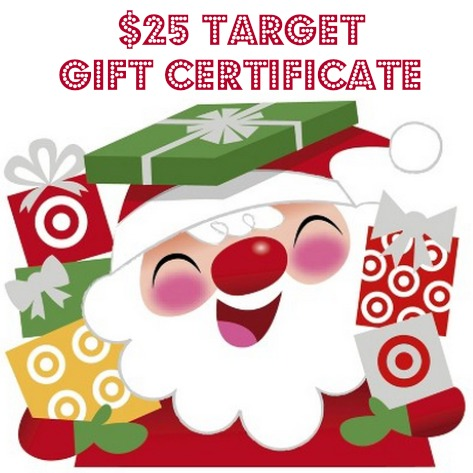 $25 Target Gift Certificate Giveaway