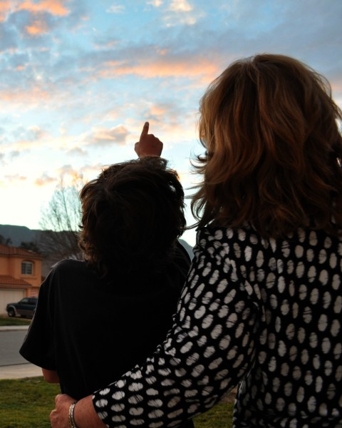 Watching the Sunset - Simple Sojourns