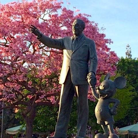 Disneyland Partners Statue - Simple Sojourns