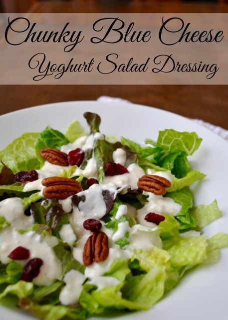 Chunky Blue Cheese Salad Dressing | Simple Sojourns