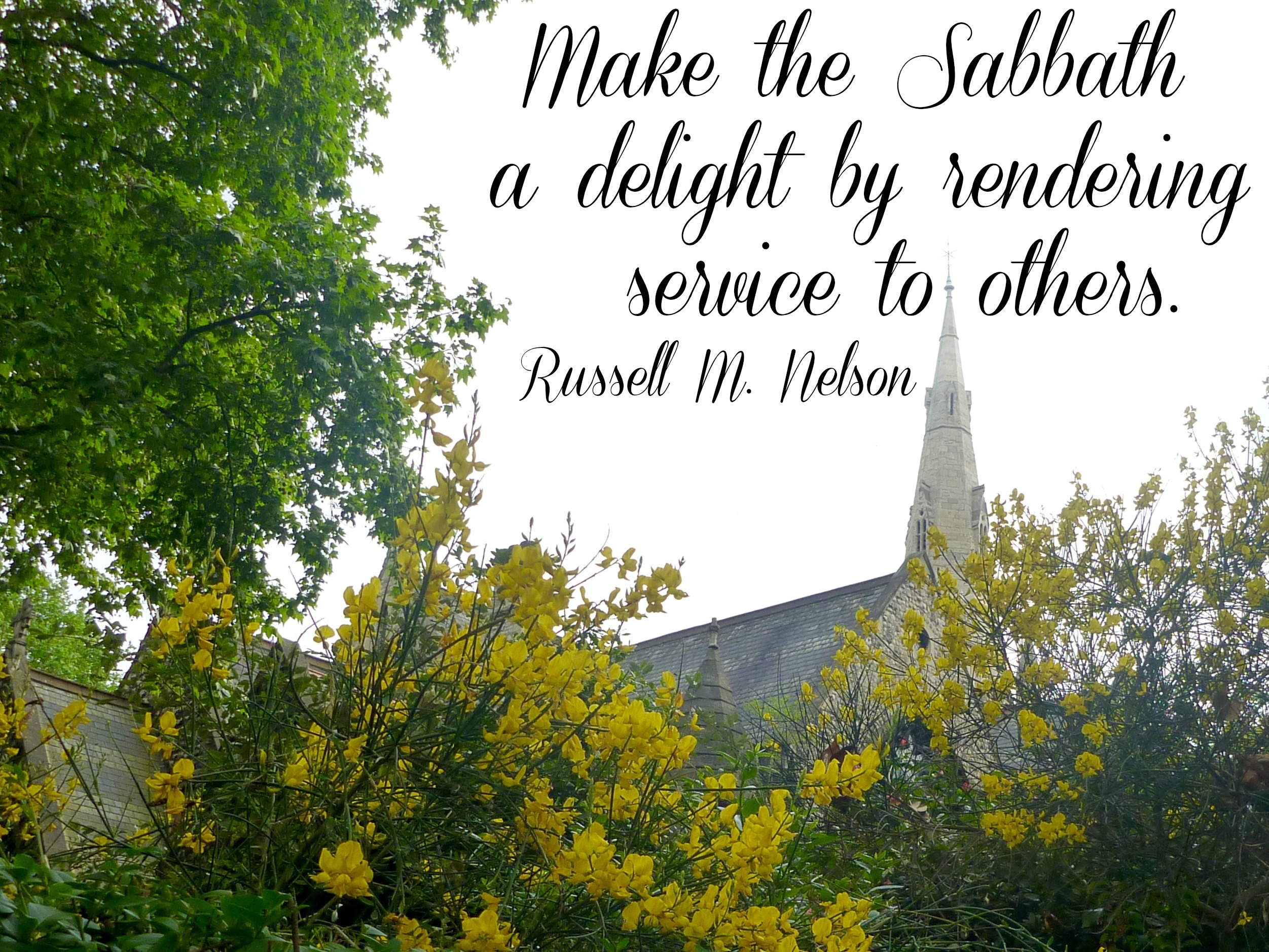 Make the Sabbath a Delight