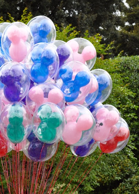 Disney Balloons - Simple Sojourns